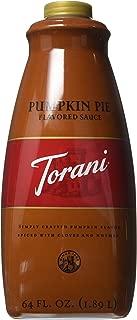 Torani Pumpkin Pie Sauce(64 Fl Oz)