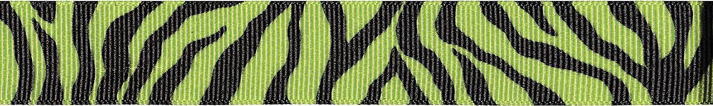Offray Grosgrain Animal Craft Ribbon, 7/8-Inch x 9-Feet, Lemon Grass, 7/8 Inch