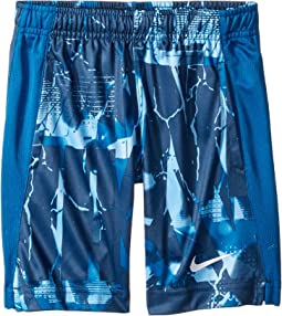 Dri-FIT All Over Print Legacy Shorts (Little Kids)