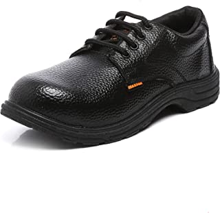Agarson High Quality Steel Toe PVC Moulded Engineers/Labours Safety Shoes; CAPTAIN