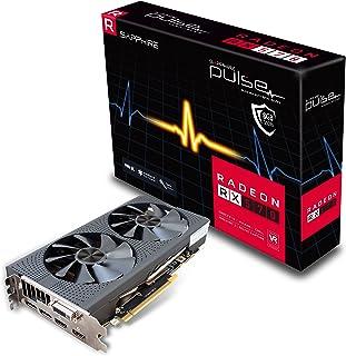 Sapphire Pulse Radeon RX 570 Radeon RX 570 8GB GDDR5 - Tarjeta gráfica (Radeon RX 570, 8 GB, GDDR5, 256 bit, 5120 x 2880 Pixeles, PCI Express 3.0)