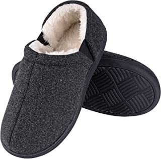 Homitem Women's Slippers with Cozy Memory Foam,House Slipper for Women Slip-on Comfy Women's Anti-Slip Indoor Outdoor Rubb...