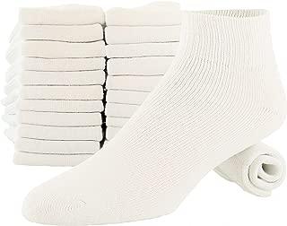 mens white cotton ankle socks
