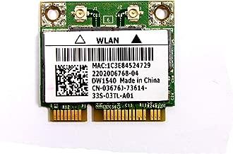 3676J - Dell Wireless 1540 DW1540 WiFi 802.11 a/b/g/n Half-Height Mini-PCI Express Card - 3676J