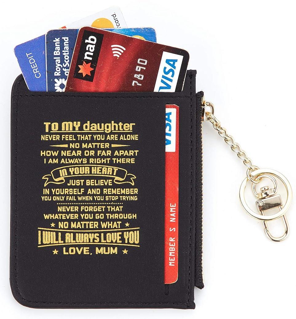 Casmonal Genuine Womens Leather Card Case Holder Minimalist Slim Front Pocket Wallet Coin Change Purse tvzf8800319363