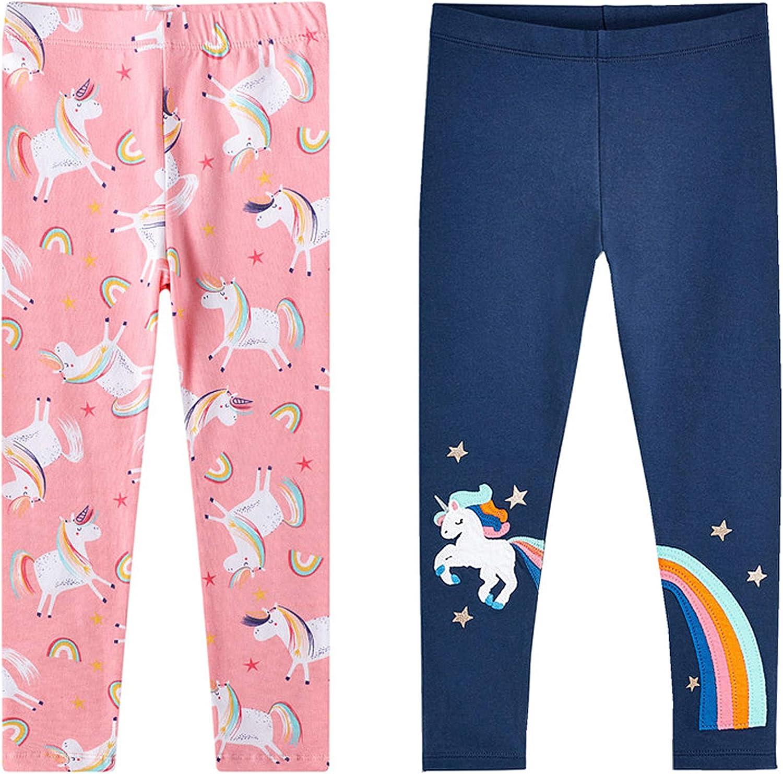MyKazoe Girls Unicorn Rainbow Full Length Leggings