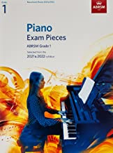 Piano Exam Pieces 2021 & 2022, ABRSM Grade 1: Selected from the 2021 & 2022 syllabus