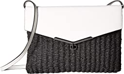 Valentina Convertible Straw Crossbody
