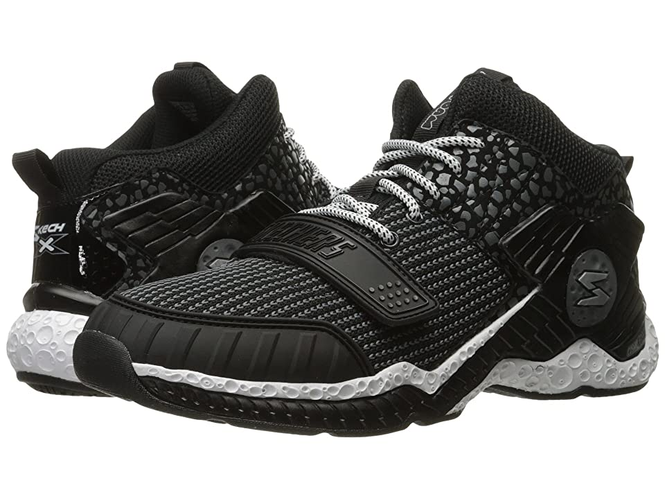 SKECHERS KIDS Cosmic Foam II-Overrun (Little Kid/Big Kid) (Black/White) Boys Shoes