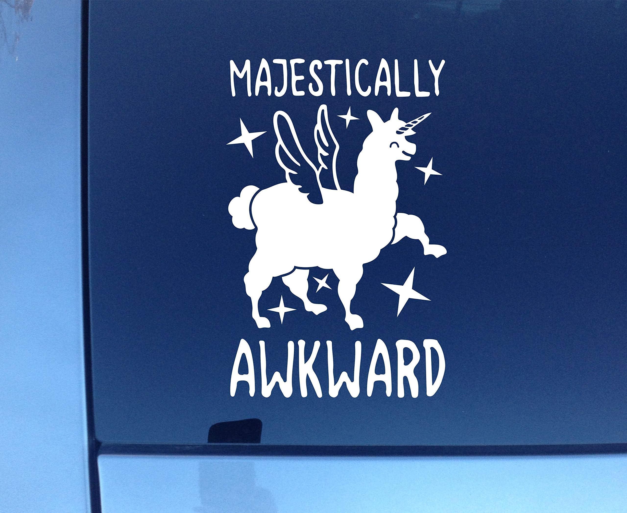 Majestically Awkward Magical Badger Sticker