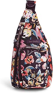 Vera Bradley Lighten Up MiniSlingBackpack, Polyester, Indiana Blossoms