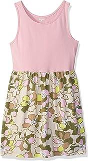 فستان جيمبوري كاجوال بلا أكمام كبير للفتيات