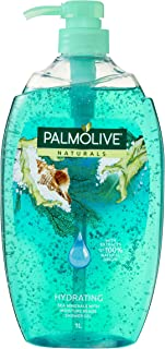 Palmolive Naturals Hydrating Body Wash Sea Minerals with Moisture Beads Soap Free, 1L
