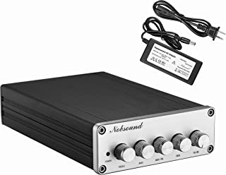 Nobsound HiFi TPA3116D2 2.1 Channel Digital Audio Power Amplifier Stereo Amp 2×50W+100W Subwoofer Treble Bass Independent ...