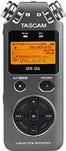 Tascam DR-05 Portable Digital Recorder (Version 2) Luminous Gray Special Edition