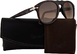 055d4c5d65 Persol PO0649S Sunglasses Havana w Brown Gradient Lens 2451 52mm PO 0649  PO0649-S