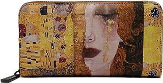 KEVIN JEANS Portafoglio donna ,bello,grande,spazioso,pelle,rfid,regalo,portafoglio con portamonete,Porta banconote,portafo...