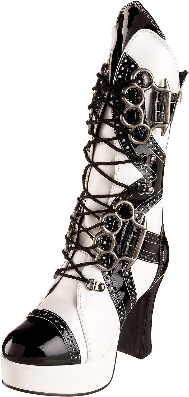 Funtasma by Pleaser Women's Exotica-1050 Mid Calf Boot