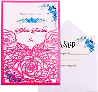 Best hot pink wedding invitations Reviews