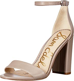 1de8d6fcceb Amazon.com  Grey - Heeled Sandals   Sandals  Clothing
