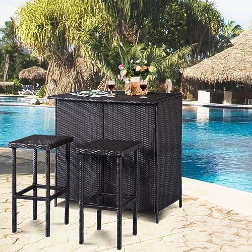 Outdoor Patio Bars Amazon Com