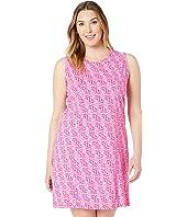 Plus Size Tidepool Geo Marissa Dress