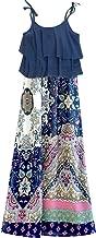 TRULY ME, Big Girls' Two-fer Style Dress/Walk Through Romper, Size 7-16