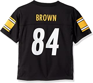 Outerstuff Antonio Brown Pittsburgh Steelers #84 NFL Youth Mid-tier Jersey Black
