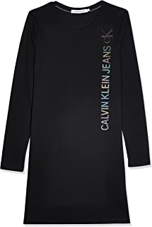 فستان لوجو عاكس للعلامة التجارية مقاس L/S للنساء من كالفن كلاين (عبوة من 1 قطعة)