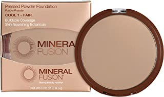 Mineral Fusion Pressed Powder Foundation - 01 Cool for Women 0.32 oz Foundation