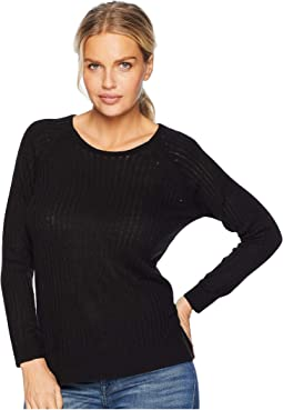 Long Sleeve High-Low Sweater