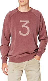 Hackett London Men's Hkt Dbl Dye Crew Sweatshirt