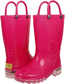 Western Chief Kids - Lighted Rain Boots (Toddler/Little Kid)