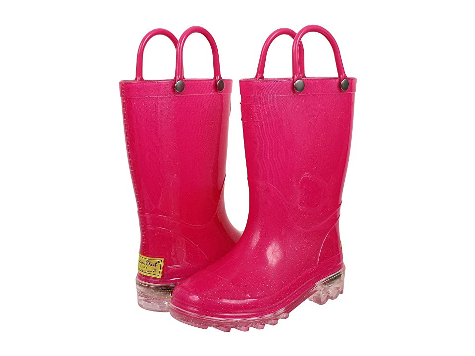 Western Chief Kids Lighted Rain Boots (Toddler/Little Kid) (Pink) Girls Shoes