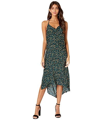 BCBGeneration Cowl Neck Dress TJQ6235277 (Teal) Women