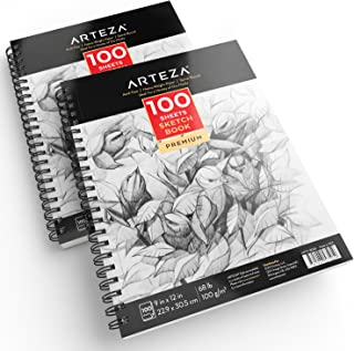 9x12 spiral bound sketch pad