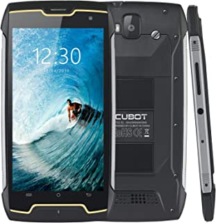 CUBOT King Kong (2018) IP68 Waterproof Rugged Smartphone Unlocked, 4400mAh Big Battery, 3G WCDMA Dual-SIM, Android 7.0, 2GB RAM+16GB,Compass+GPS, Shockproof, Dustproof