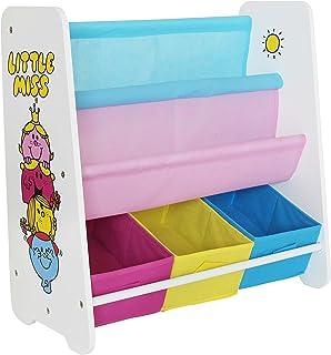 Little Miss Little Miss - Children's Wooden Storage Rack/Sling BookcaseUnit