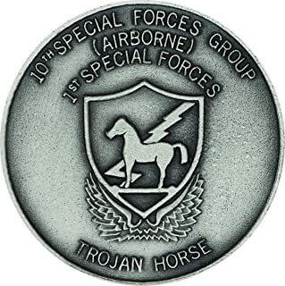 10th Special Forces Silver Ox Challenge Coin