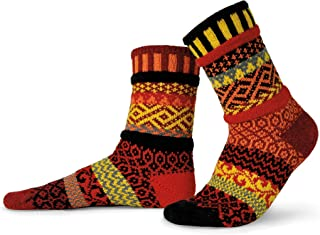 Solmate Socks - Mismatched Crew Socks for women or Men
