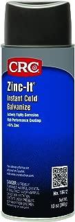 CRC 18412 Zinc-It Instant Cold Gallonvanize Zinc Rich Gallonvanize Coating, 13 Ounce, Gray Viscous Liquid