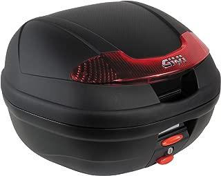 GIVI (ジビ) リアボックス 34L 未塗装ブラック モノロック E340 VISIONシリーズ E340N 66788