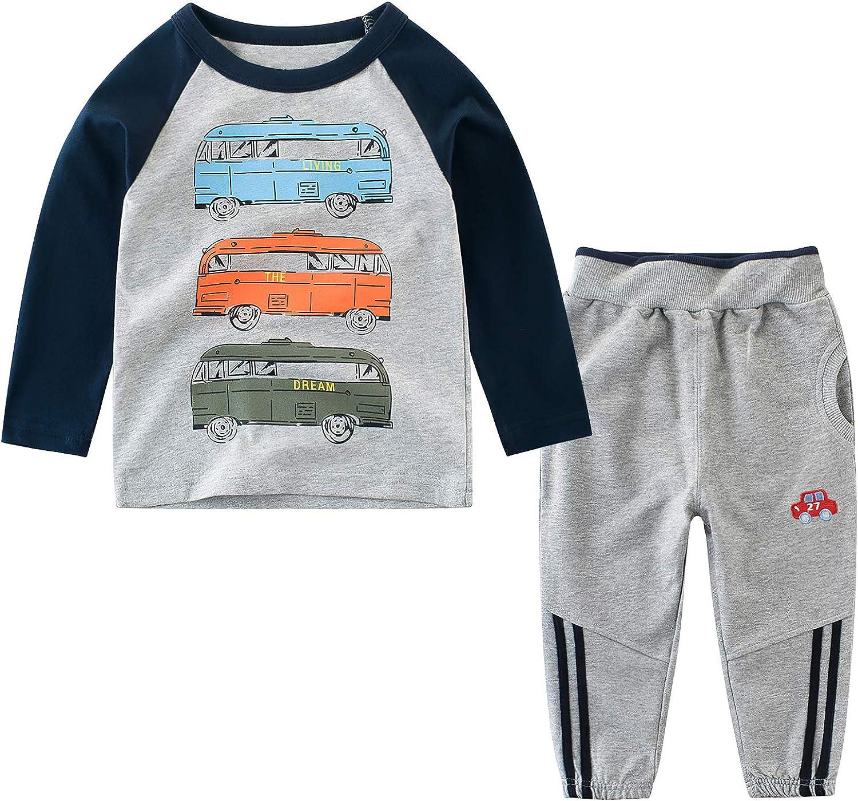 Large-scale sale Boy Clothes Set Winter Shirt Ranking TOP13 + Ea Pant 2 Sets Toddler Pieces