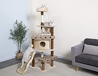 Go Pet Club IQ Busy Box Cat Tree
