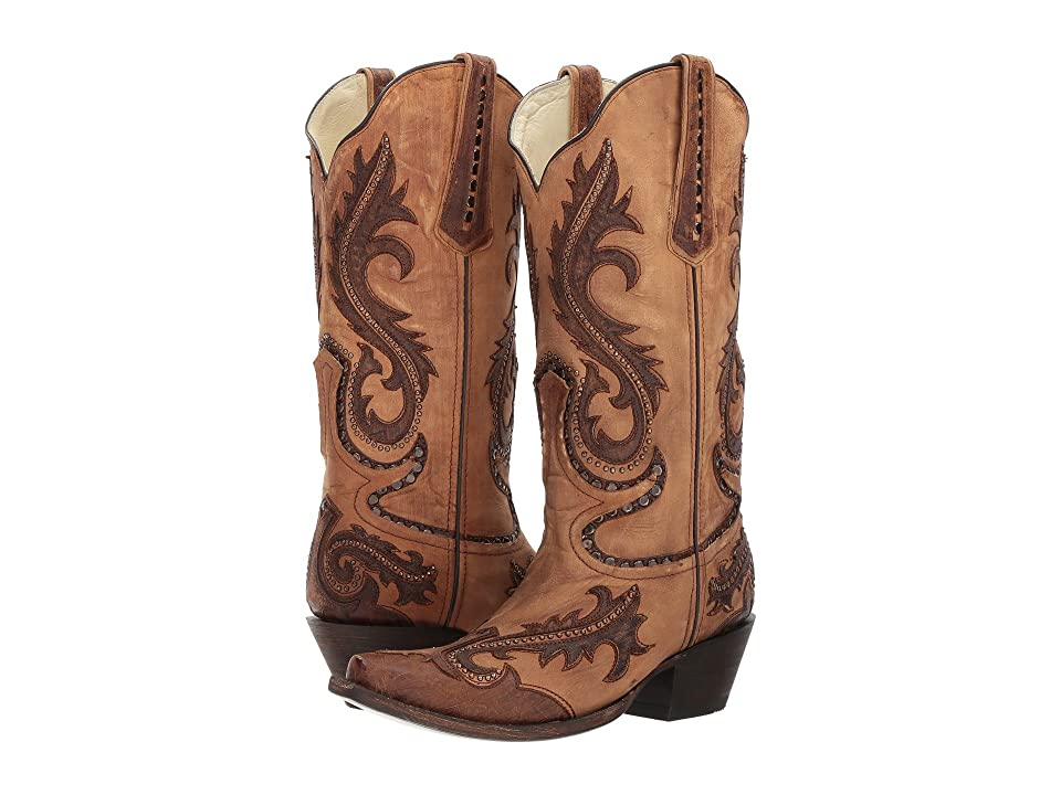 Corral Boots G1403 (Brown) Cowboy Boots