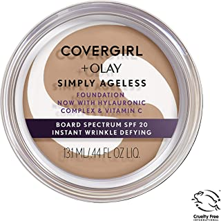 Covergirl & Olay Simply Ageless Instant Wrinkle-Defying Foundation, Medium Light