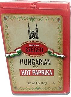 Szeged Hungarian Hot Paprika 113 Gram  / 4 Ounce