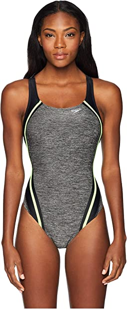 Heather Quantum Splice One-Piece