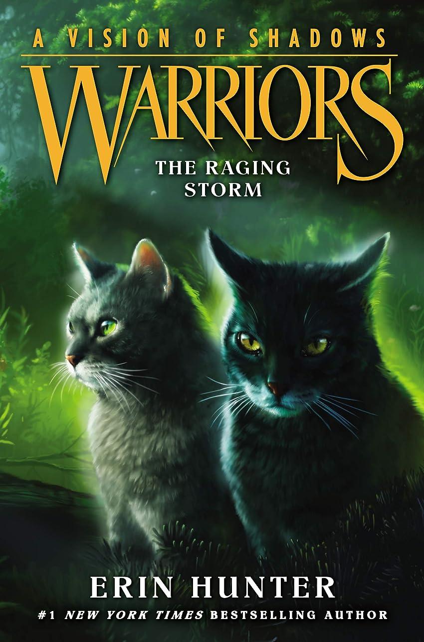 コイン暗唱する顔料Warriors: A Vision of Shadows #6: The Raging Storm (English Edition)