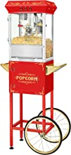 Movie Night Popcorn Popper Machine With Cart-Makes Approx. 3 Gallons Per Batch- by Superior Popcorn Company- (8 oz.